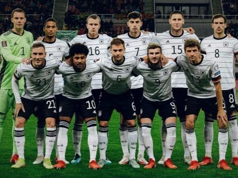 Alemania es la primera selección que se clasifica a Qatar 2022
