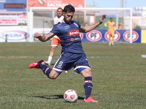 El Che Sosa quiere aportar sus goles a la selección chilena