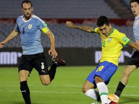 Horario: Brasil y Uruguay animan un partidazo por las Eliminatorias