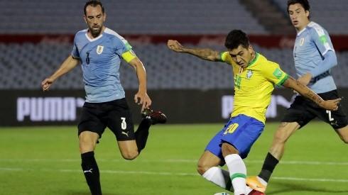 Brasil espera volver al triunfo este jueves ante los charrúas.