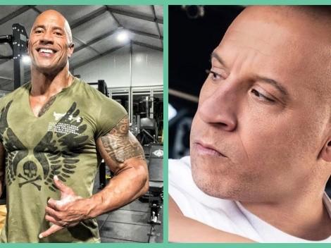 ¿Por qué Dwayne Johnson y Vin Diesel están peleados?