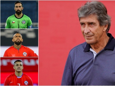 Histórico elogio de Pellegrini a Bravo, Vidal y Alexis