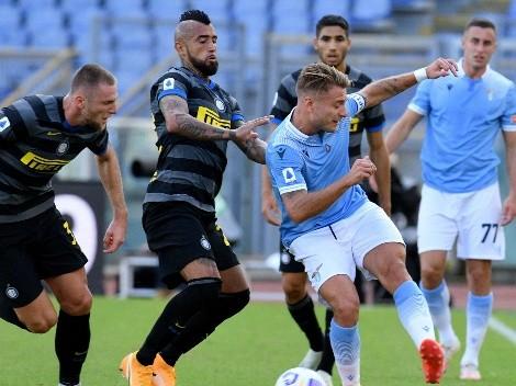 Horario: el Inter de Alexis Sánchez y Arturo Vidal visita a la Lazio en Roma