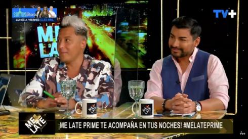 Los panelistas se refirieron a su relación en Me Late Prime.