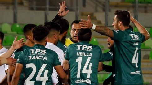 Bascuñán sólo dirigió a Wanderers en un empate desde su regreso a Primera, mientras a Everton le arbitró dos victorias consecutivas