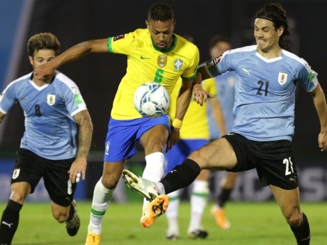 El favorito para Brasil vs Uruguay por Eliminatorias