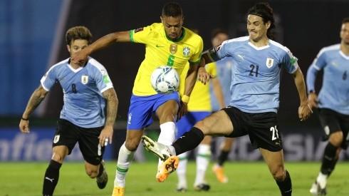 Uruguay buscará volver al triunfo ante una Brasil que viene de ceder sus primeros puntos en las Eliminatorias Sudamericanas al Mundial de Qatar 2022.