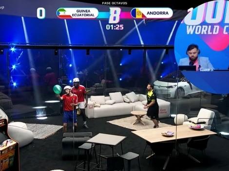 El trolleo de Ibai a Piqué en el Mundial de Globos