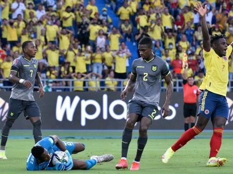 Tabla: Chile a tiro tras el 0-0 de Colombia y Ecuador