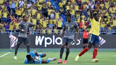 Colombia ante Ecuador por las Eliminatorias Qatar 2022.