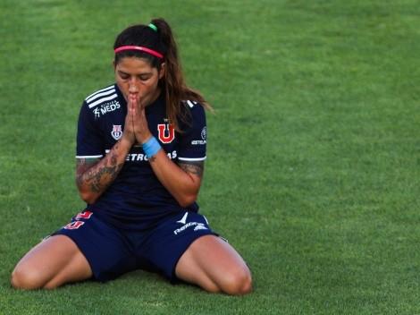 Dolor en la U: Carla Guerrero sufre grave lesión