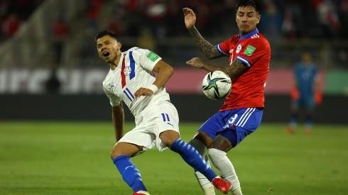 Pulgar no estará con Paraguay