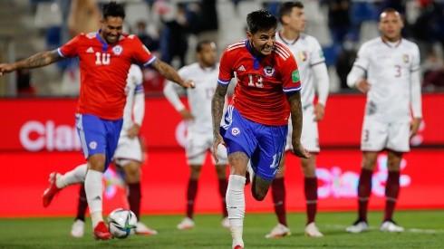 Erick Pulgar abrió el marcador para Chile ante Venezuela