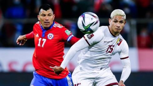 Chile ante Venezuela por las Eliminatorias Qatar 2022.