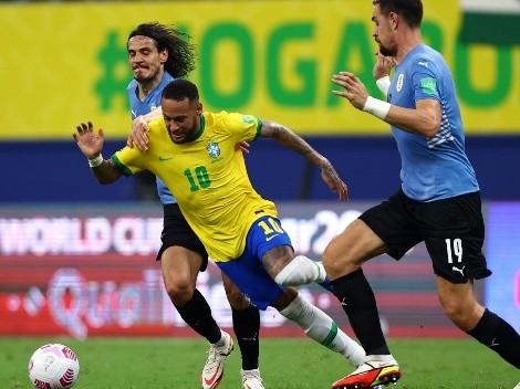 Brasil le pasa la aplanadora por encima a Uruguay con goleada