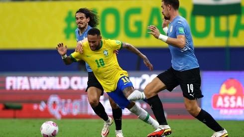 Neymar fue fundamental en tres de los cuatro goles de Brasil