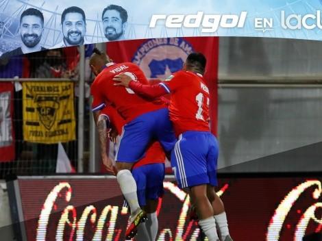 El viernes alegre con el triunfo de Chile en RedGol en La Clave