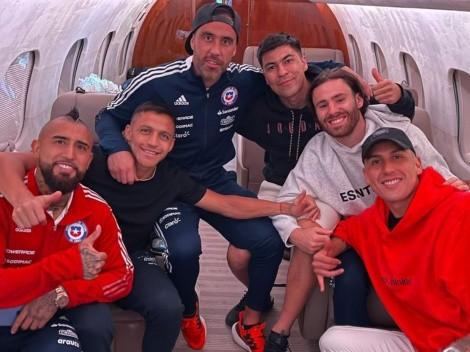 El avión de la esperanza reúne a Bravo y Vidal