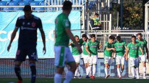 Audax Italiano mantuvo la mala racha de los azules que no ganan desde el Superclásico por el Campeonato Nacional
