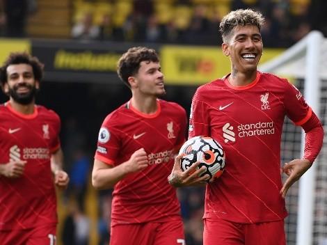 Liverpool es puntero con goleada ante el Watford de Sierralta
