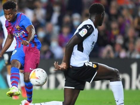 Barcelona vuelve a la victoria con un Ansu Fati imparable