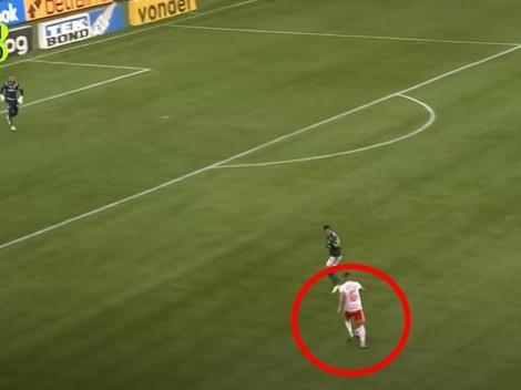 Palacios participó en jugada clara de gol en derrota de Inter
