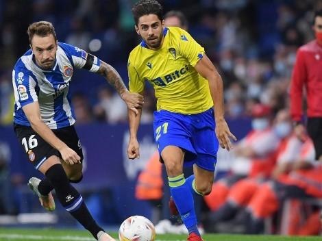 Con Alarcón titular, el Cádiz cayó en su visita al Espanyol