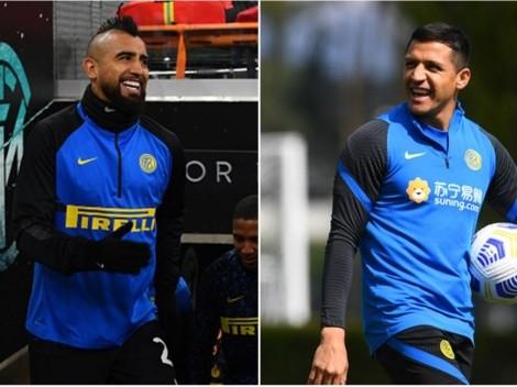 Programación de Champions: Inter de Vidal y Alexis va por el Sheriff