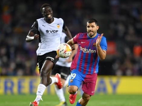 """El Kun Agüero recuerda partida de Messi: """"Fue una sorpresa"""""""