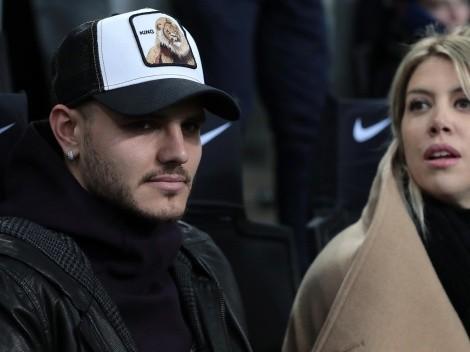 Guerra: Wanda pide el divorcio e Icardi amenaza con dejar PSG