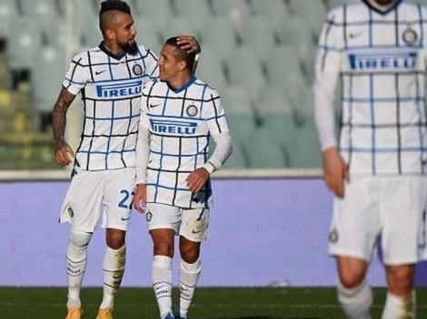 Sánchez y Vidal fueron citados por Inzaghi en el Inter