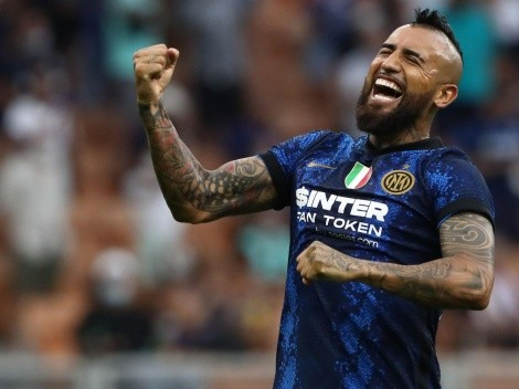 Vidal asoma como estelar en Inter por la Champions