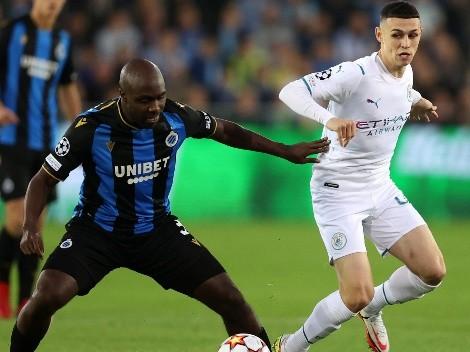 Manchester City se recupera con sólida goleada a Brujas
