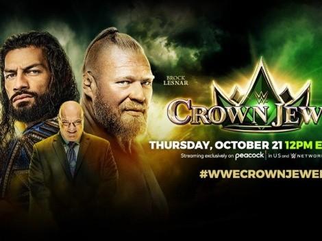 Crown Jewel 2021: Cartelera, horario y dónde ver por TV y ONLINE el PPV de la WWE