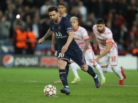 Doblete de Messi y el PSG lo da vuelta ante Leipzig