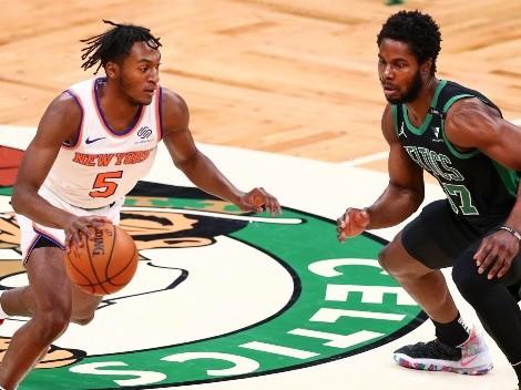 ¿Cuándo y a qué hora juega New York Knicks vs Boston Celtics por la NBA?