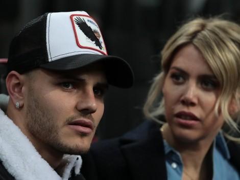 Mauro Icardi solo sigue a Wanda Nara en sus redes sociales