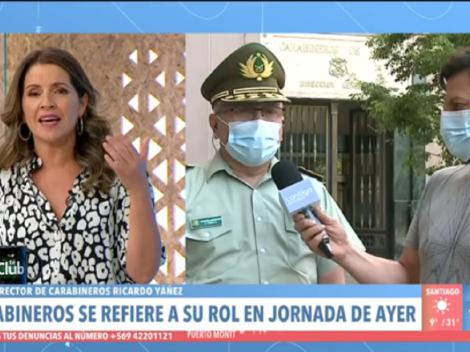 Monserrat Álvarez responde a las críticas tras tenso cruce con general director de Carabineros