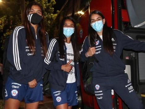 La Roja femenina llega a Cali para su amistoso ante Colombia