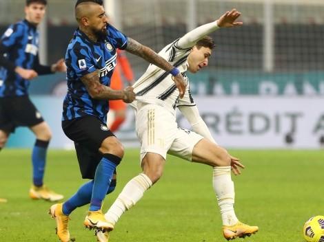 Vidal le para los carros a su viejo amigo Bonucci