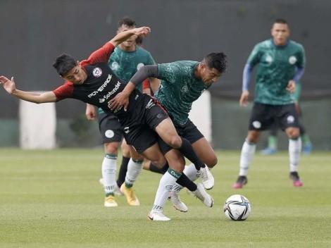 Lasarte de espectador: la Roja sub 20 perdió contra Rodelindo Román
