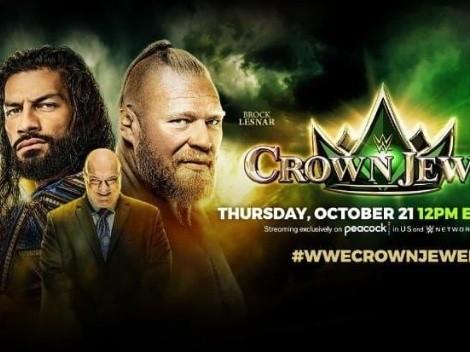 ¿Cuándo y a qué hora es el evento Crown Jewel de la WWE?