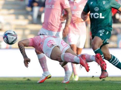 Golazo de palomita de Puch para la UC contra Wanderers