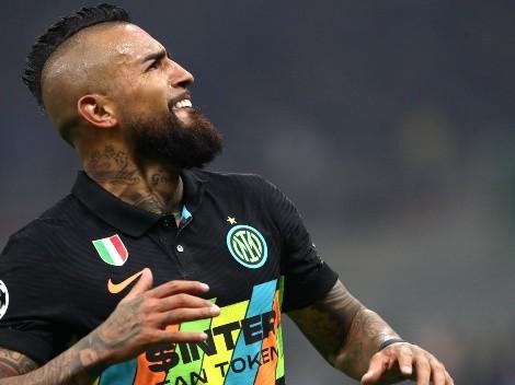 La prensa italiana quiere a Vidal titular en Inter ante Juventus