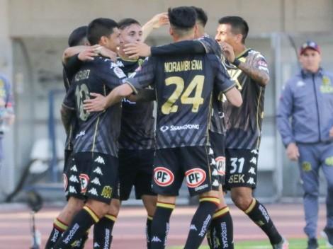 Pato Rubio le dio la victoria a Unión Española ante Antofagasta