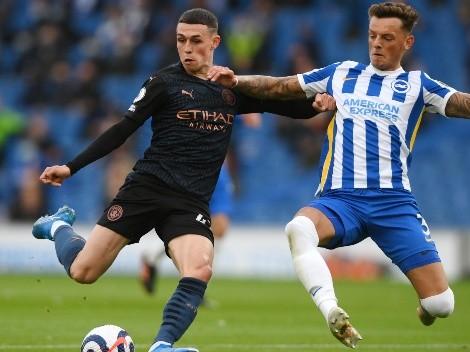 Manchester City visita al Brighton por una nueva fecha de la Premier League