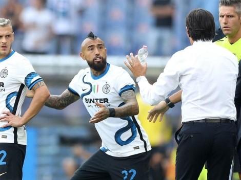 """Inzaghi: """"Vidal hizo un partido excelente contra el Sheriff"""""""