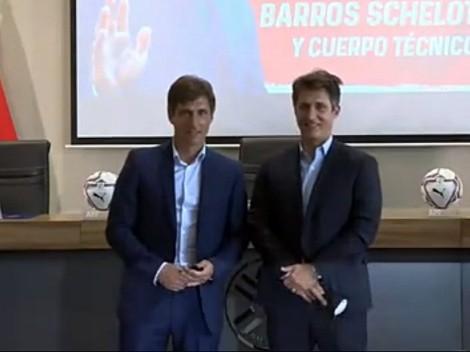 Barros Schelotto asume en Paraguay con amenazas a Chile