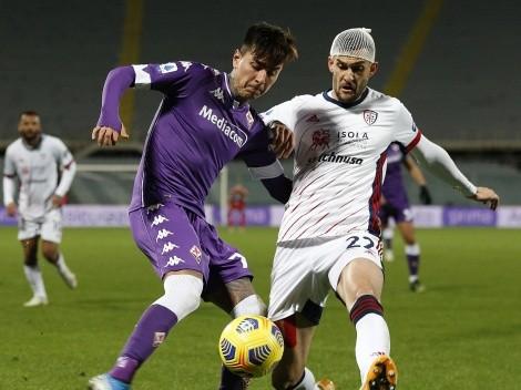 ¿Cuándo y a qué hora juega la Fiorentina de Pulgar vs Cagliari?