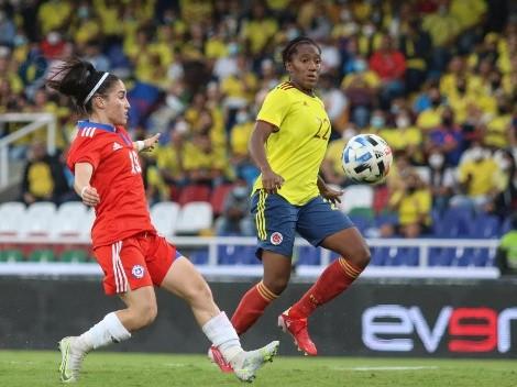 La selección chilena femenina tropieza en su visita a Colombia